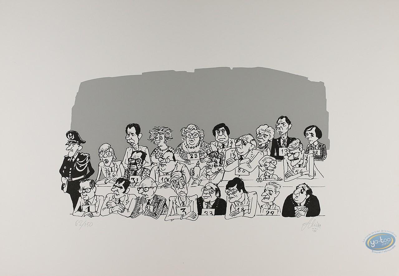 Serigraph Print, Alidor : Jury