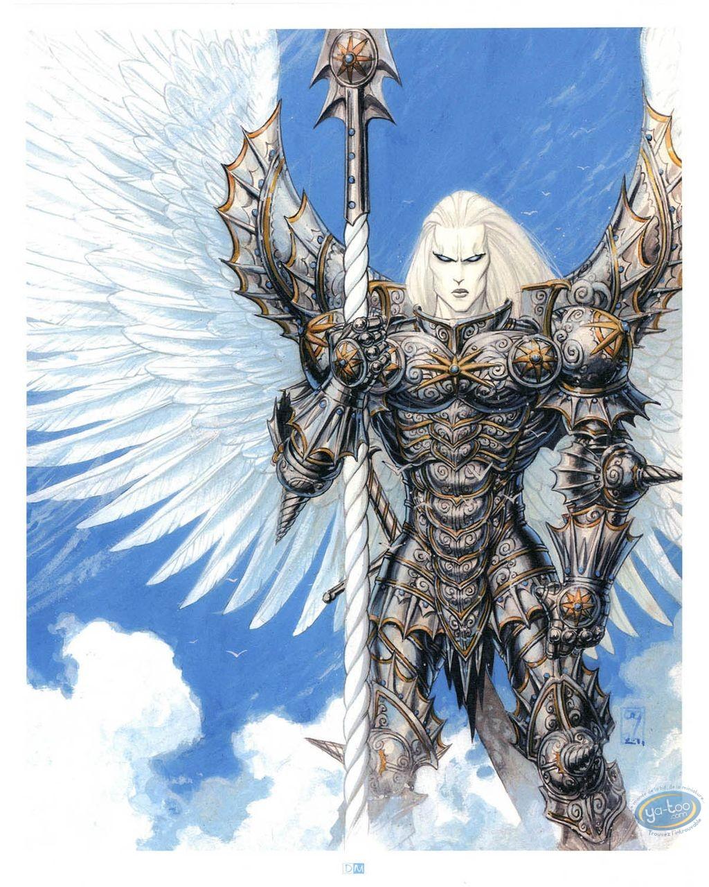 Offset Print, Warrior Angel