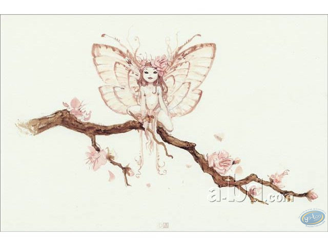 Offset Print, Féerie : Fairy on tree