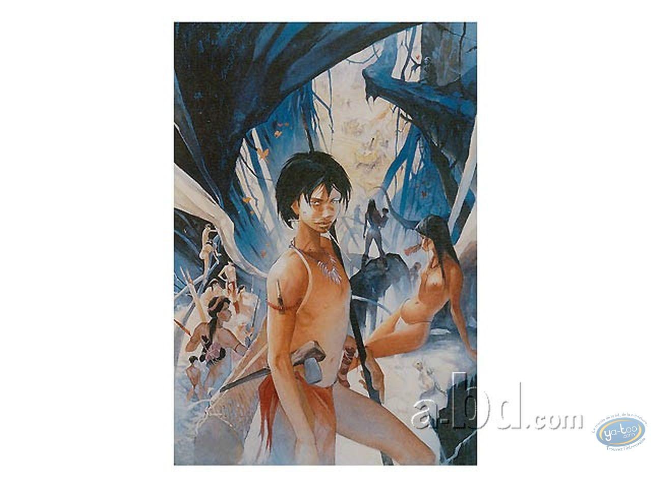 Offset Print, Terre Sans Mal (La) : The warrior (variant)