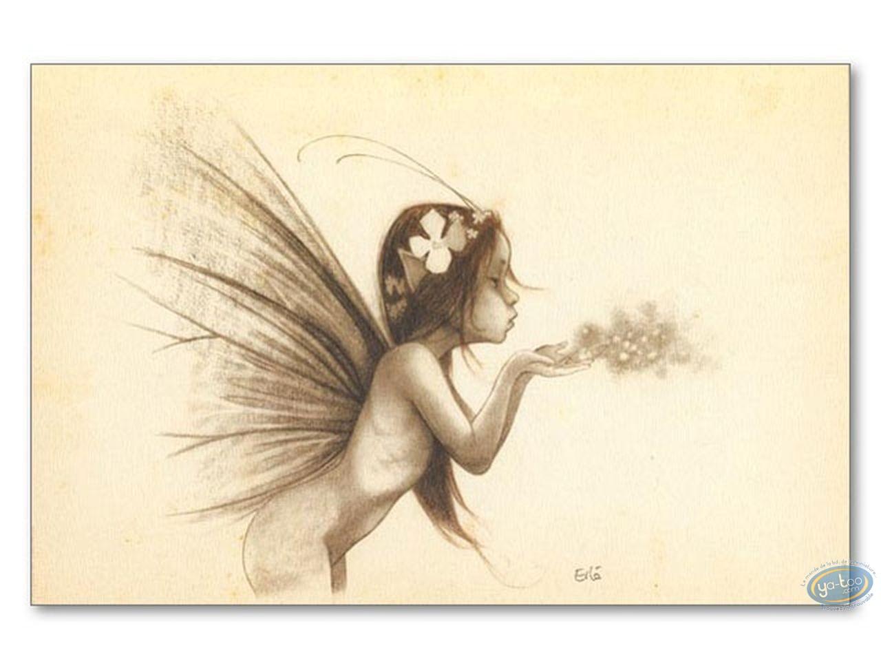 Offset Print, Féerie : Fairy blowing