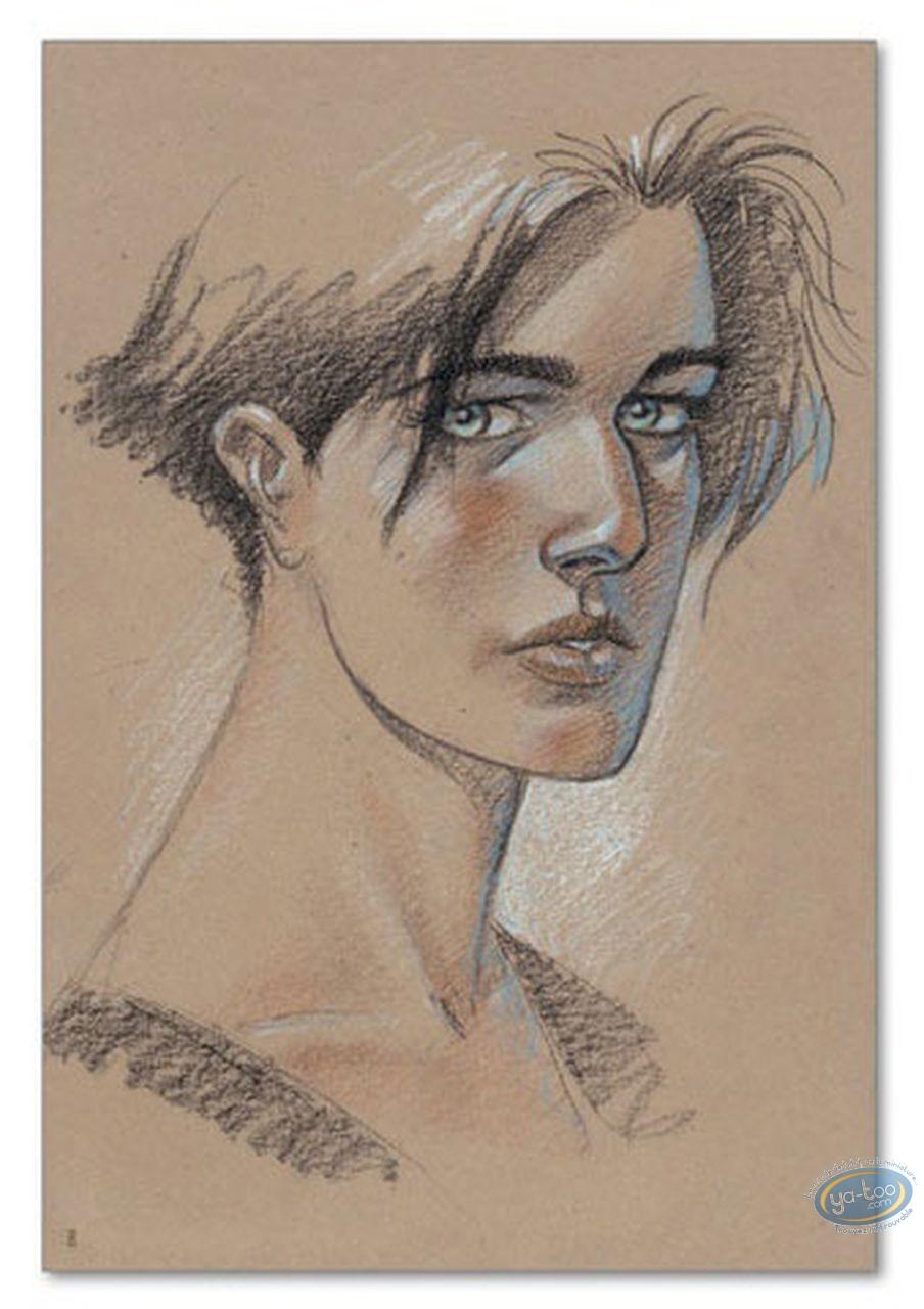 Offset Print, Voyage de Léna (Le) : Lena's Portrait (signed)