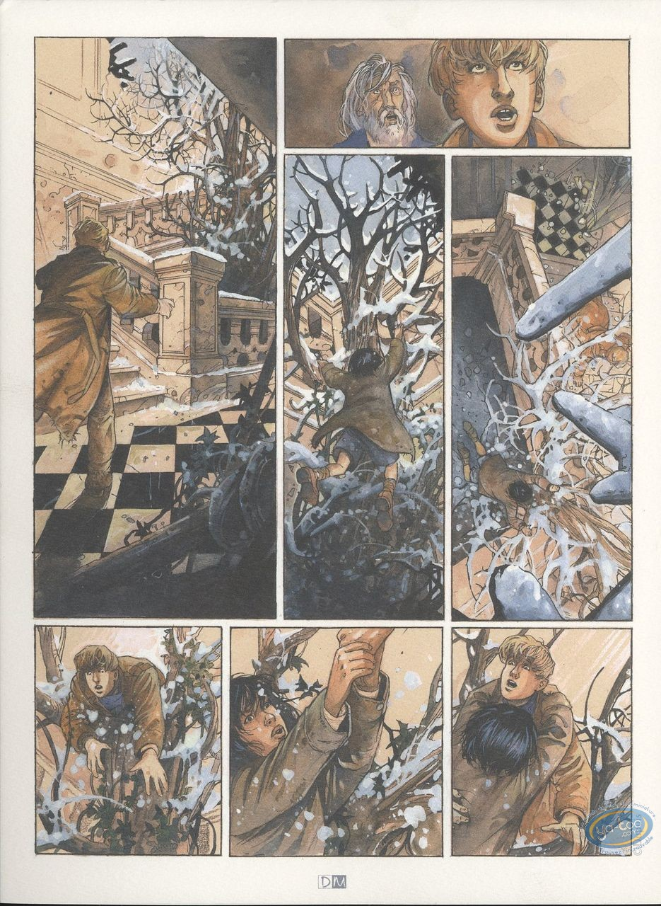 Bookplate Offset, Ange-Marie : Unpublished Page