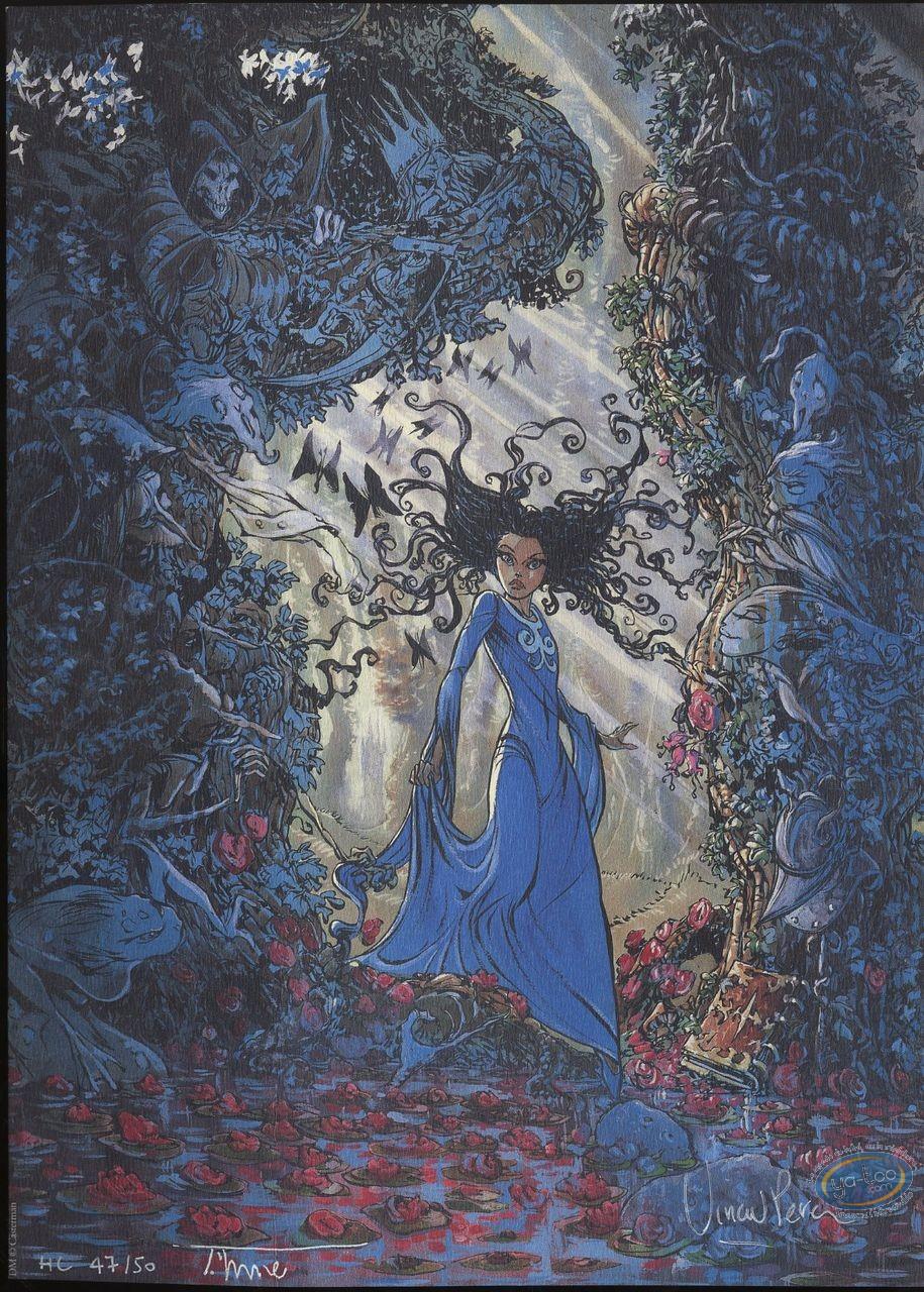 Bookplate Offset, Forêt (La) : Danger