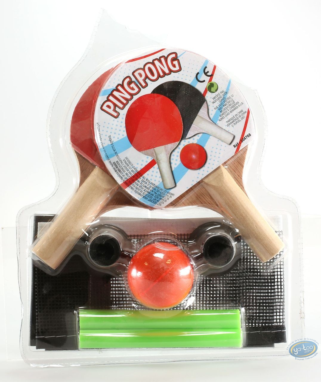 Toy, Mini Ping Pong : Racquets + ball + net