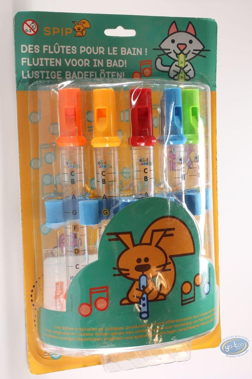 Toy, Spip : Bath flutes