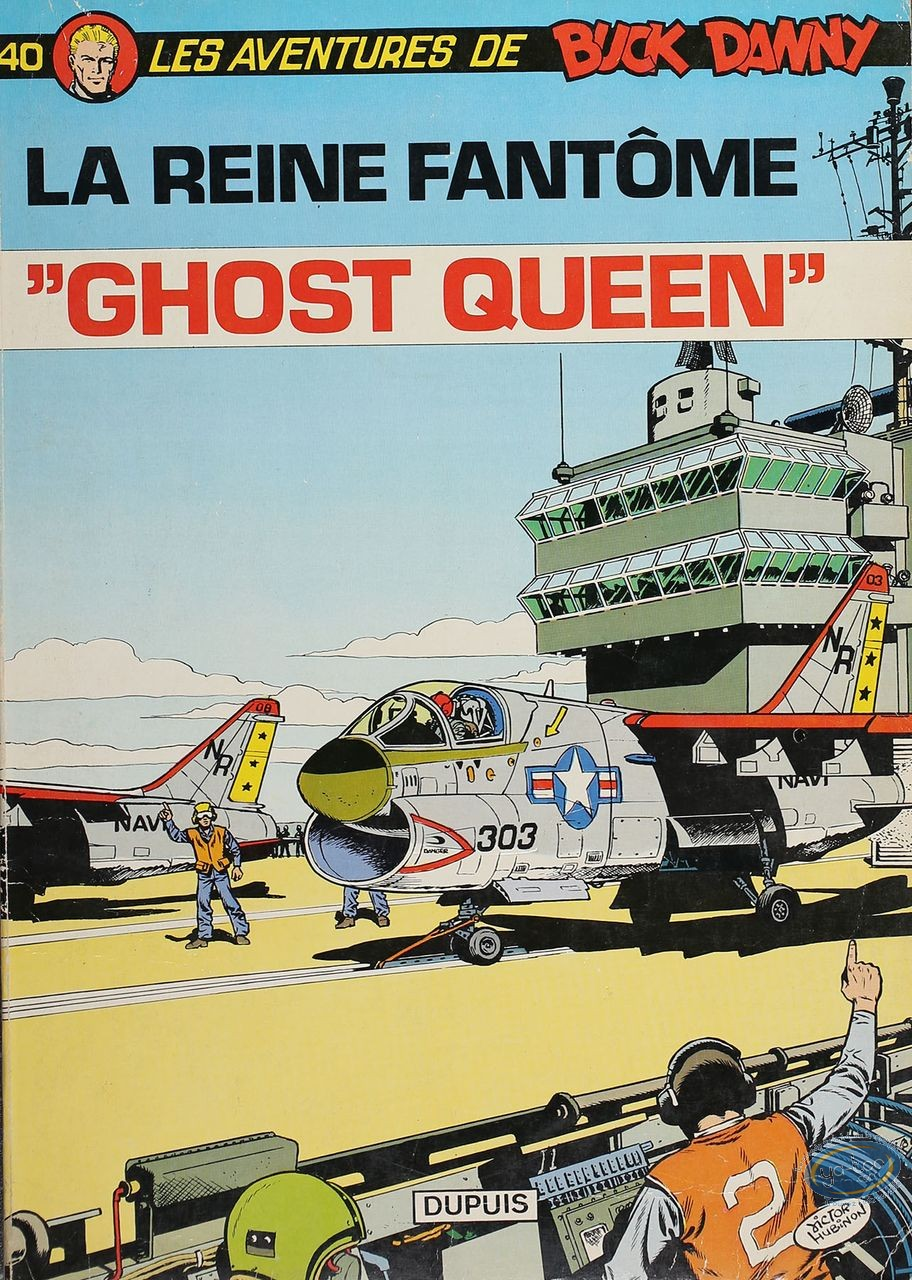 Listed European Comic Books, Buck Danny : La Reine Fantôme (good condition)