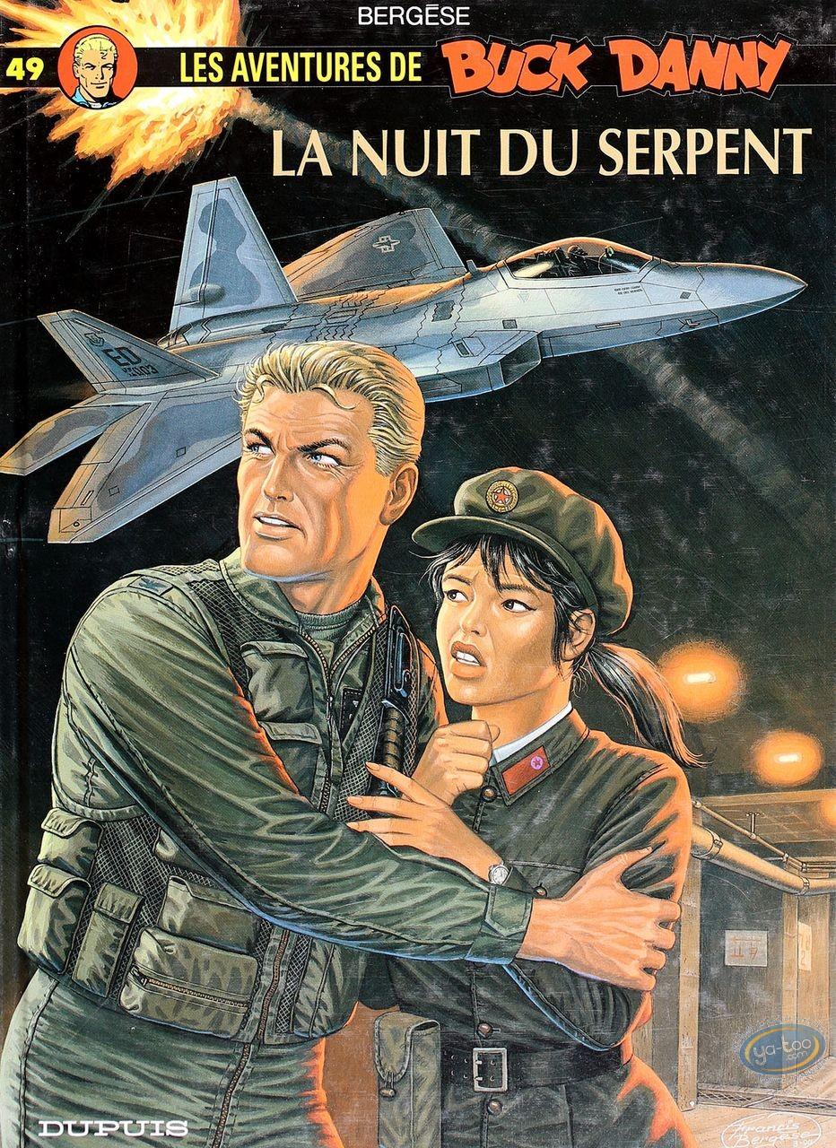 Listed European Comic Books, Buck Danny : La Nuit du Serpent