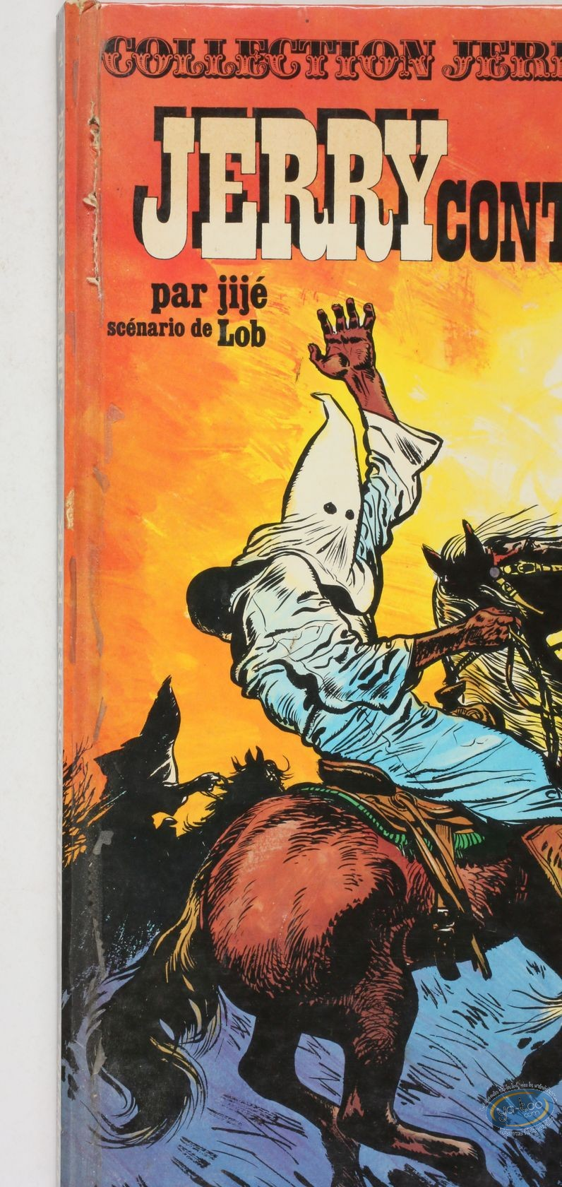 Listed European Comic Books, Jerry Spring : Jerry Spring, Jerry contre KKK + La passe des indiens
