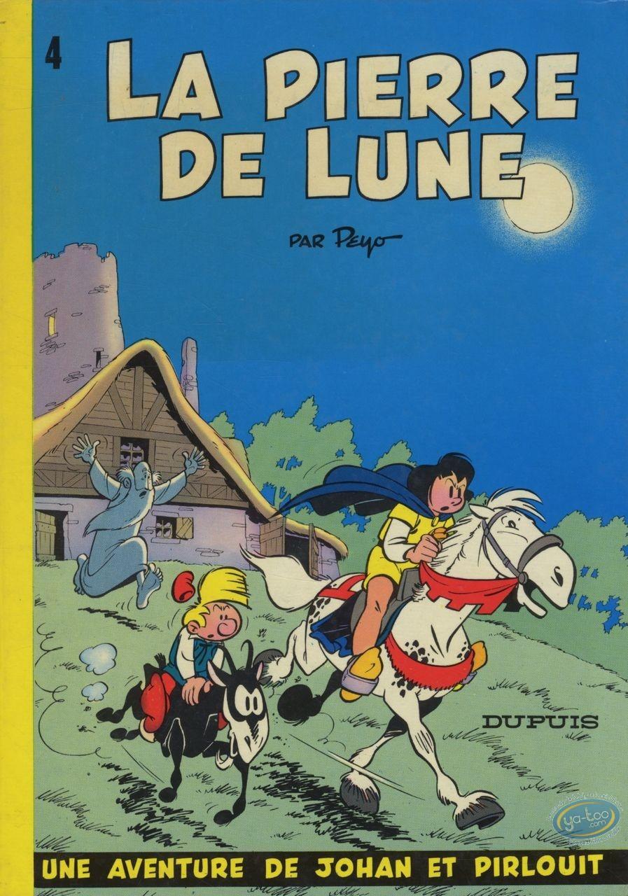 Listed European Comic Books, Johan et Pirlouit : La Pierre de Lune (good condition)