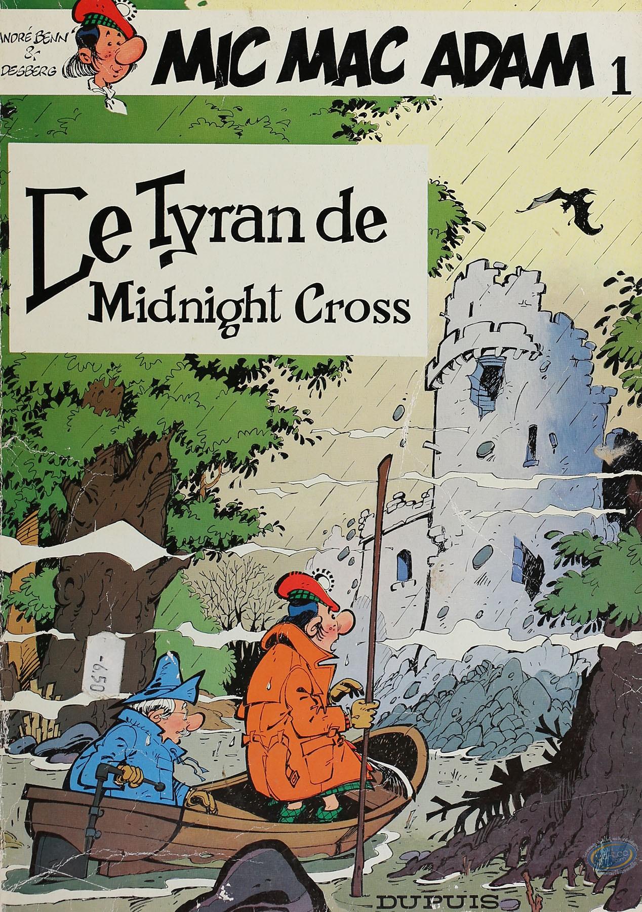 Listed European Comic Books, Mic Mac Adam : Le Tyran de Midnight Cross