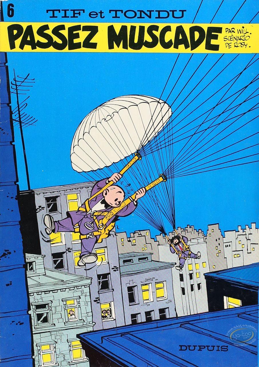 Listed European Comic Books, Tif et Tondu : Passez Muscade (good condition)