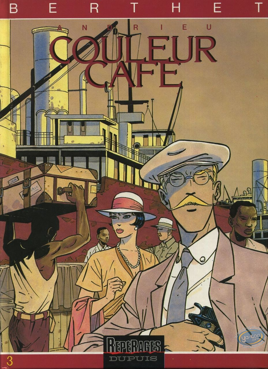 Reduced price European comic books, Couleur café : Couleur Café