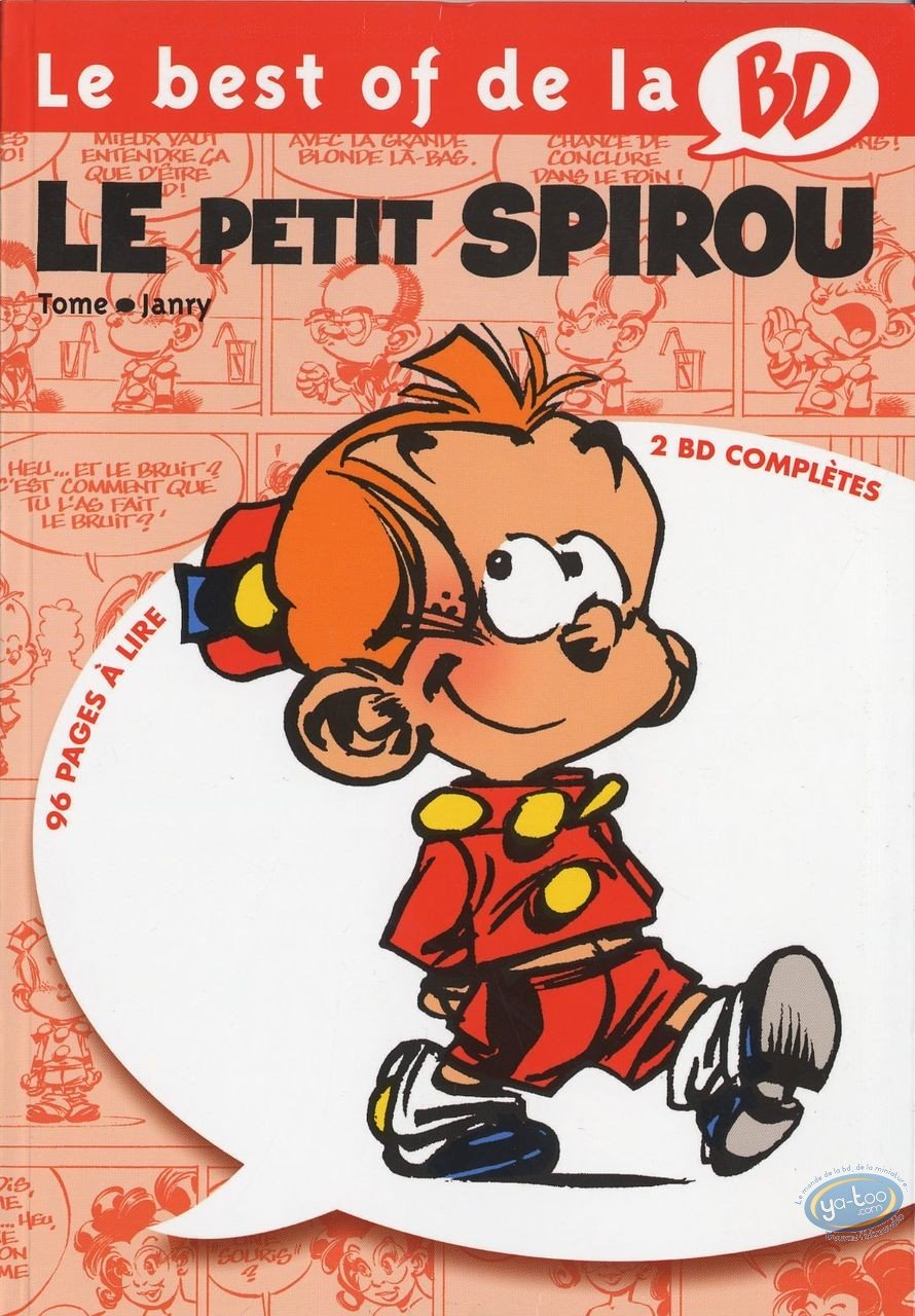 Reduced price European comic books, Young Spirou : Complete Le petit Spirou
