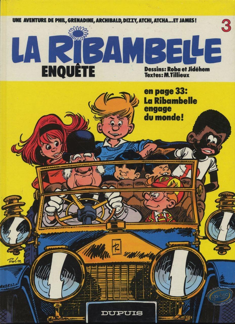 Reduced price European comic books, Ribambelle (La) : Enquête