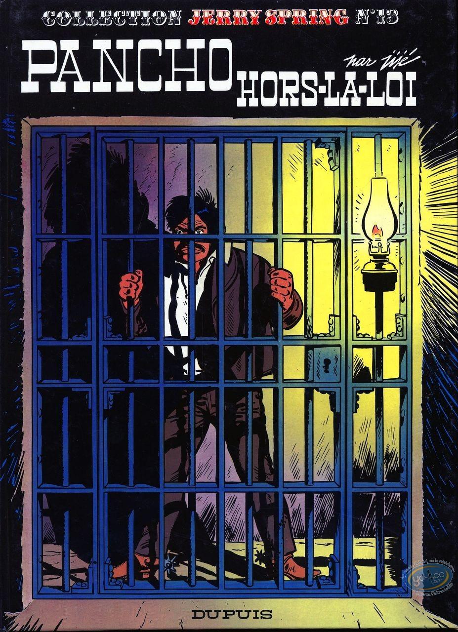 Reduced price European comic books, Jerry Spring : T13 Pancho hors-La-Loi