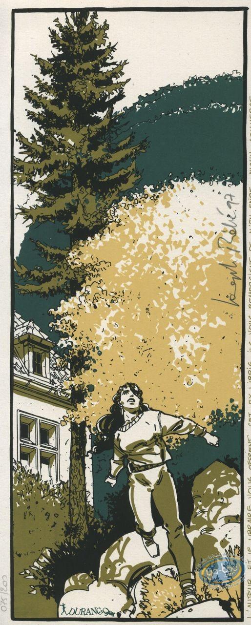 Bookplate Serigraph, Péché Mortel : Run