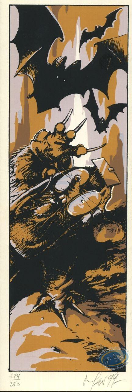 Serigraph Bookmark, Mole