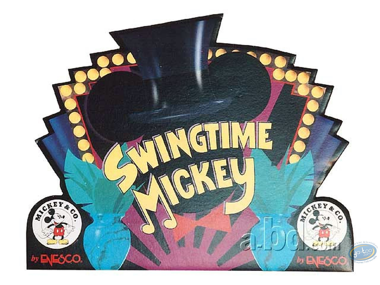 Offset Print, Mickey Mouse : Disney, Swingtime Mickey