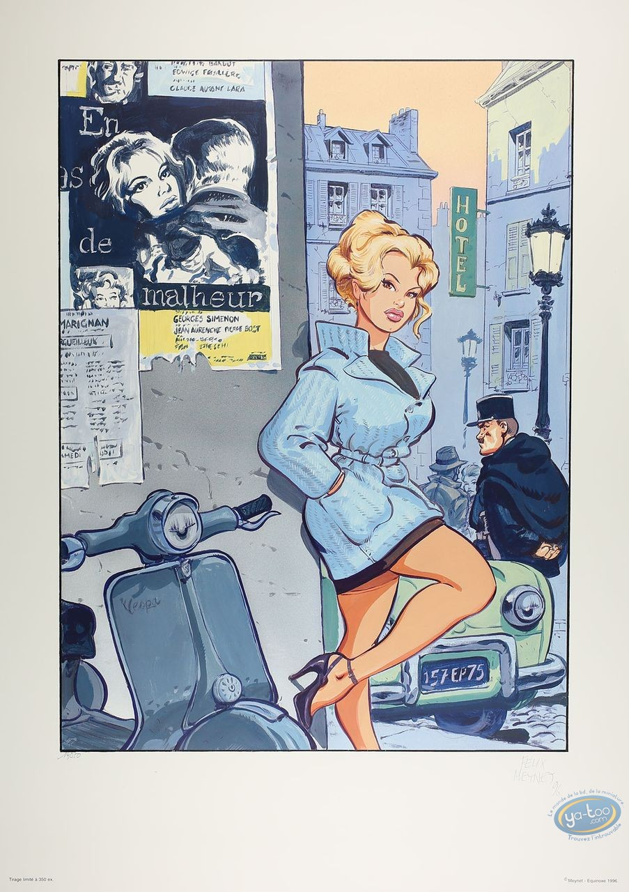 Offset Print, Brigitte Bardot : Tribute to Brigitte Bardot