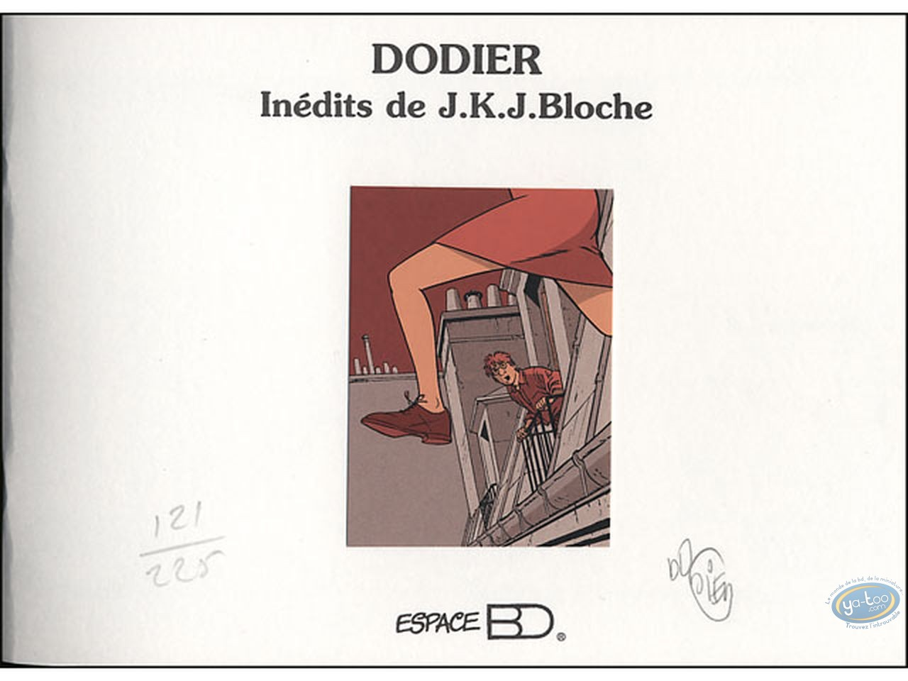 Sketchbook, Jérome K Bloche : JKJ Bloche