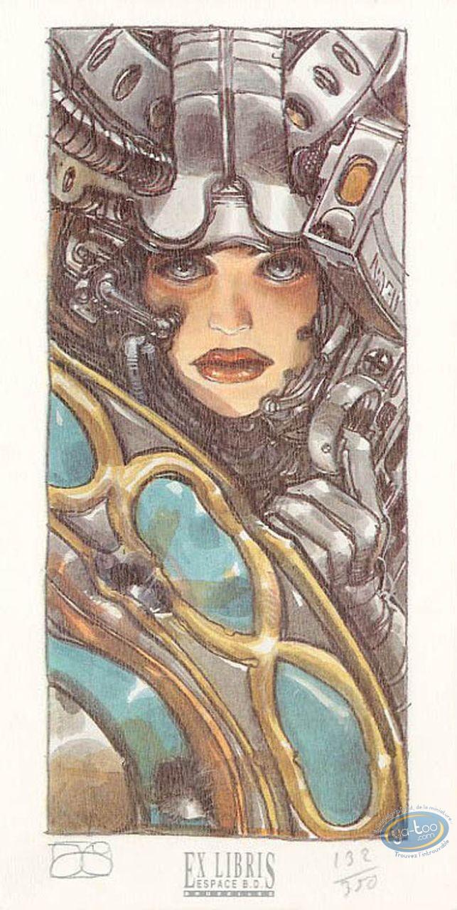 Bookplate Offset, Caste des Métas-Barons (La) : Shield