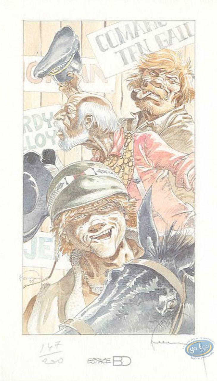 Bookplate Offset, Jérémiah : Kurdy, Ten Gallons & Barney Jordan