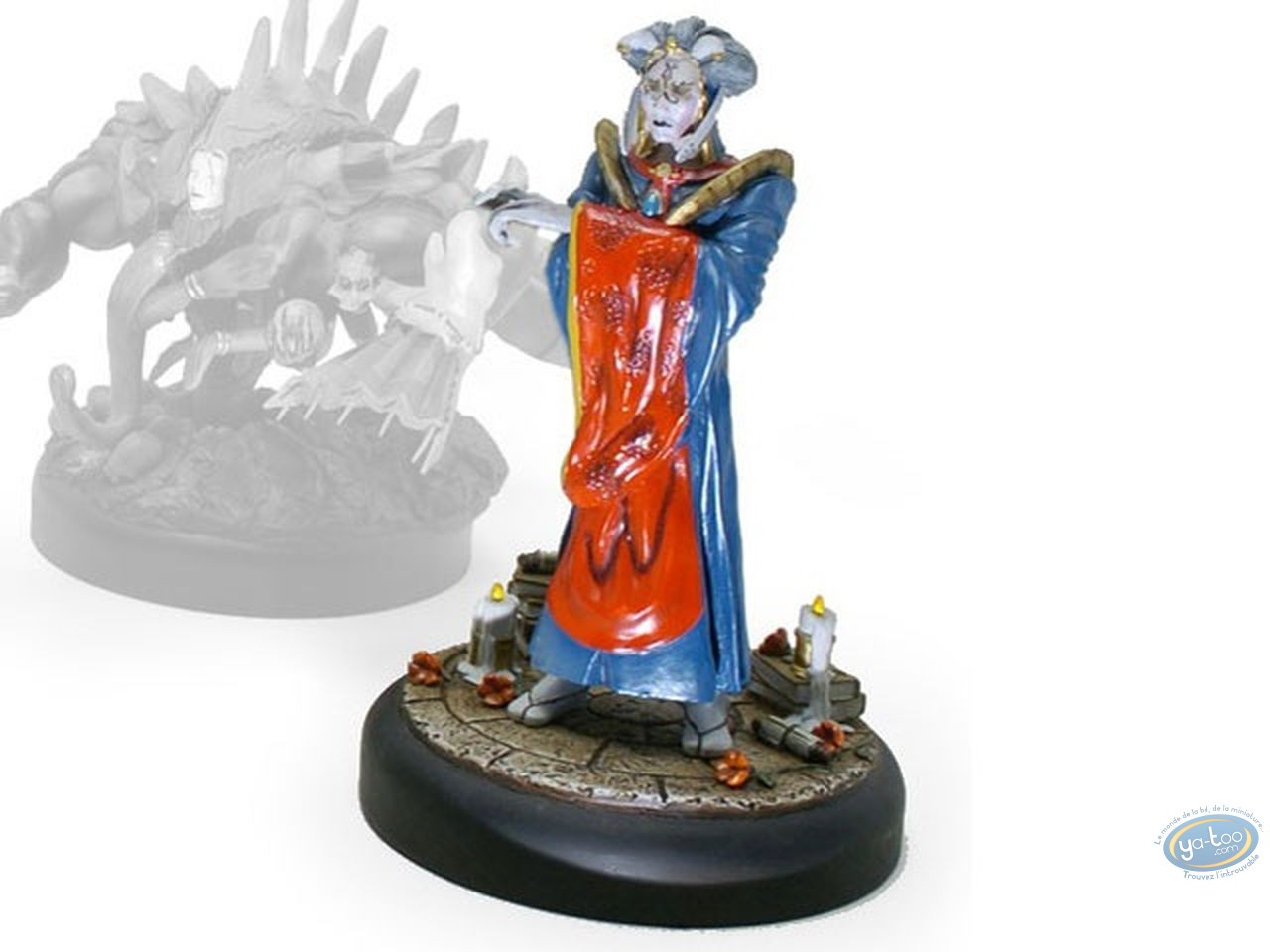 Resin Statuette, Magic the Gathering : Meloku