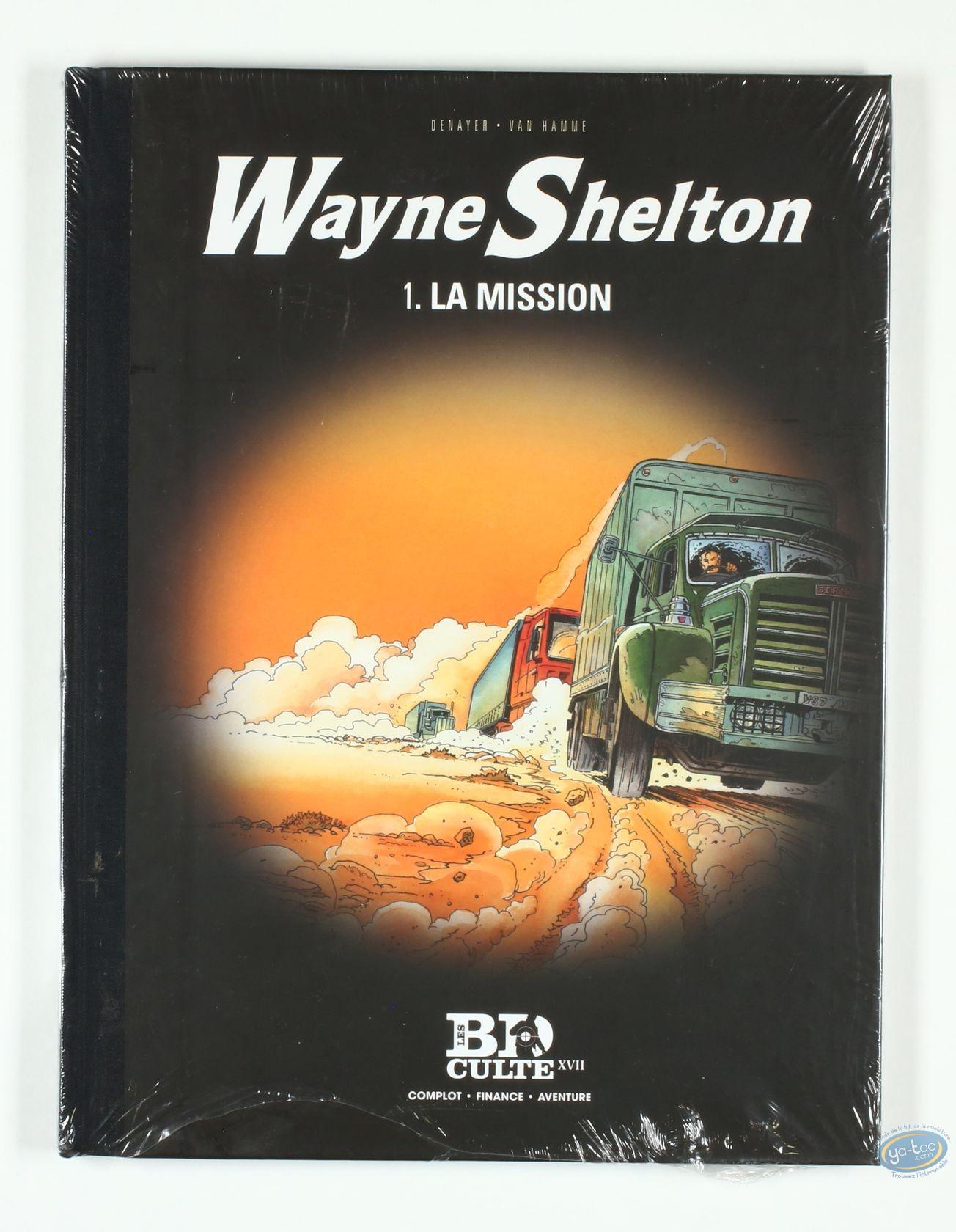 Reduced price European comic books, Wayne Shelton : La mission