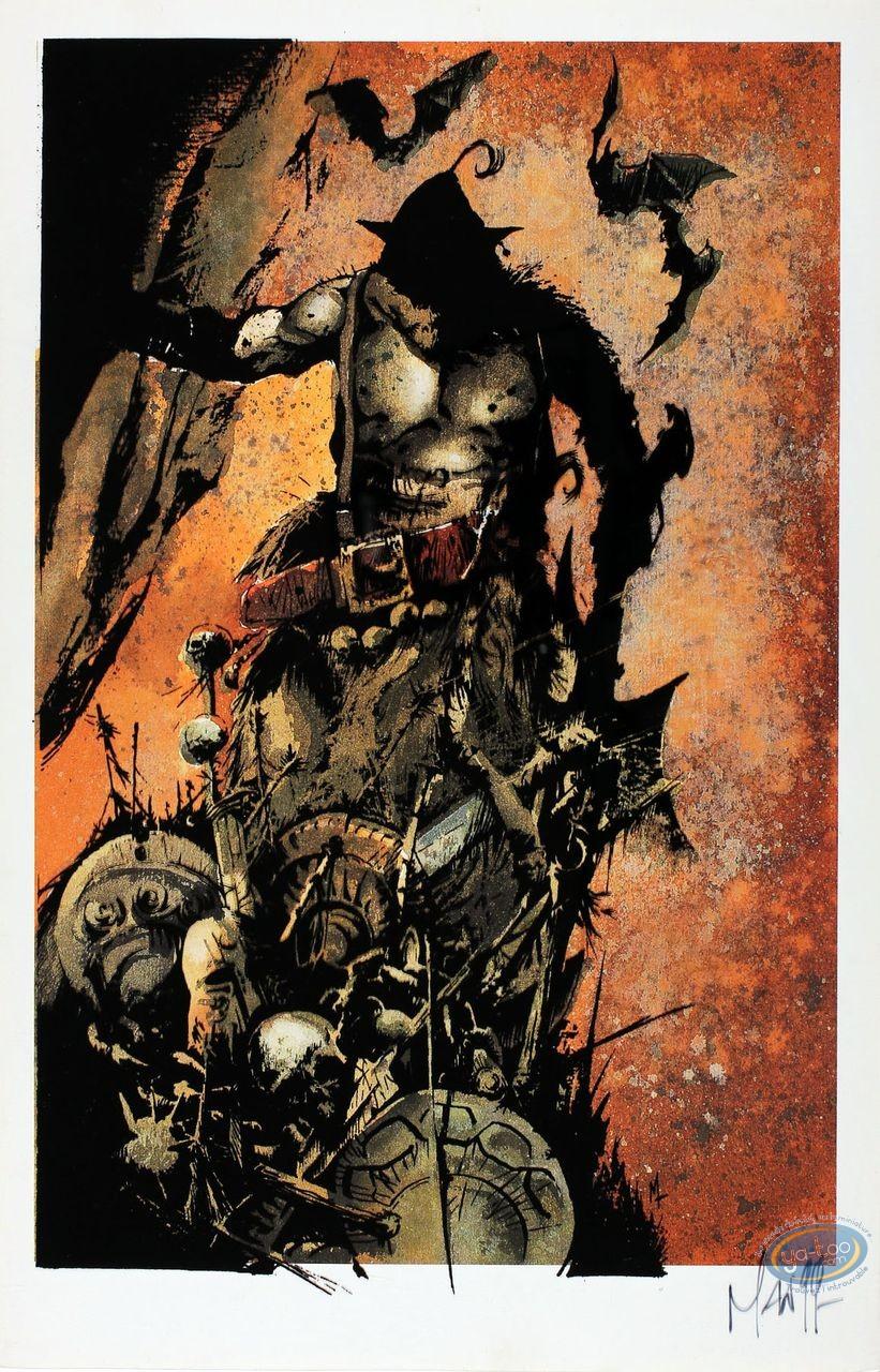 Bookplate Offset, Graine de Folie (La) : Monster (signed)