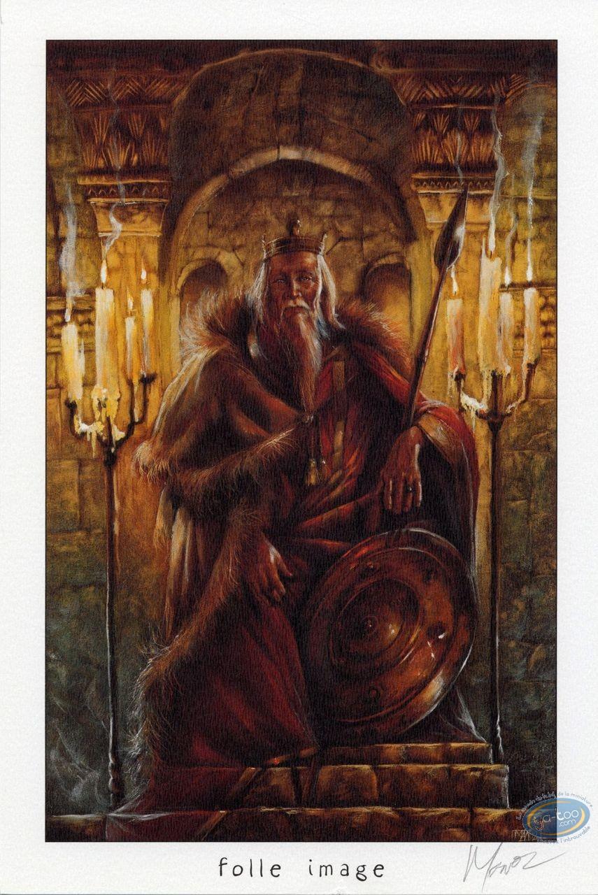 Bookplate Offset, Graine de Folie (La) : King