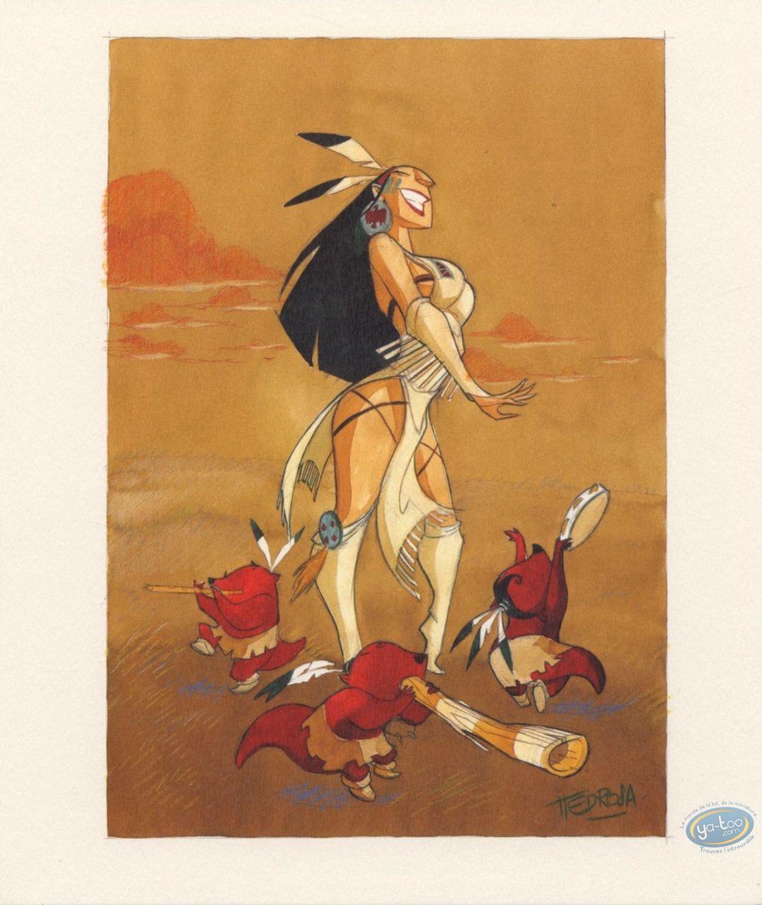 Bookplate Offset, Luuna : Pedrosa, Luuna et les Pipintus