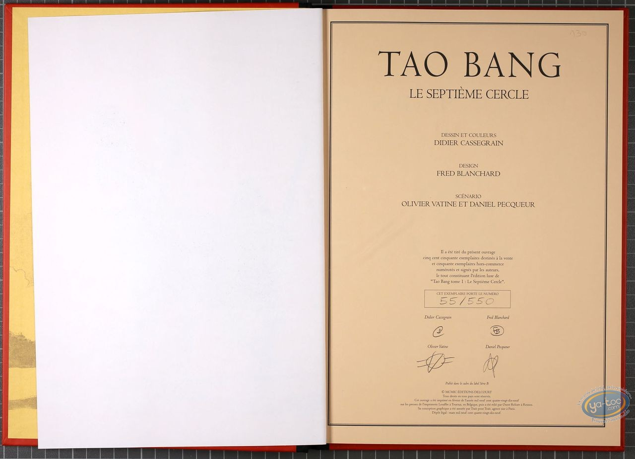 Limited First Edition, Tao Bang : Le Septieme Cercle