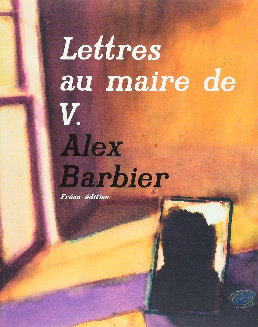 Listed European Comic Books, Lettres au Maire de V.