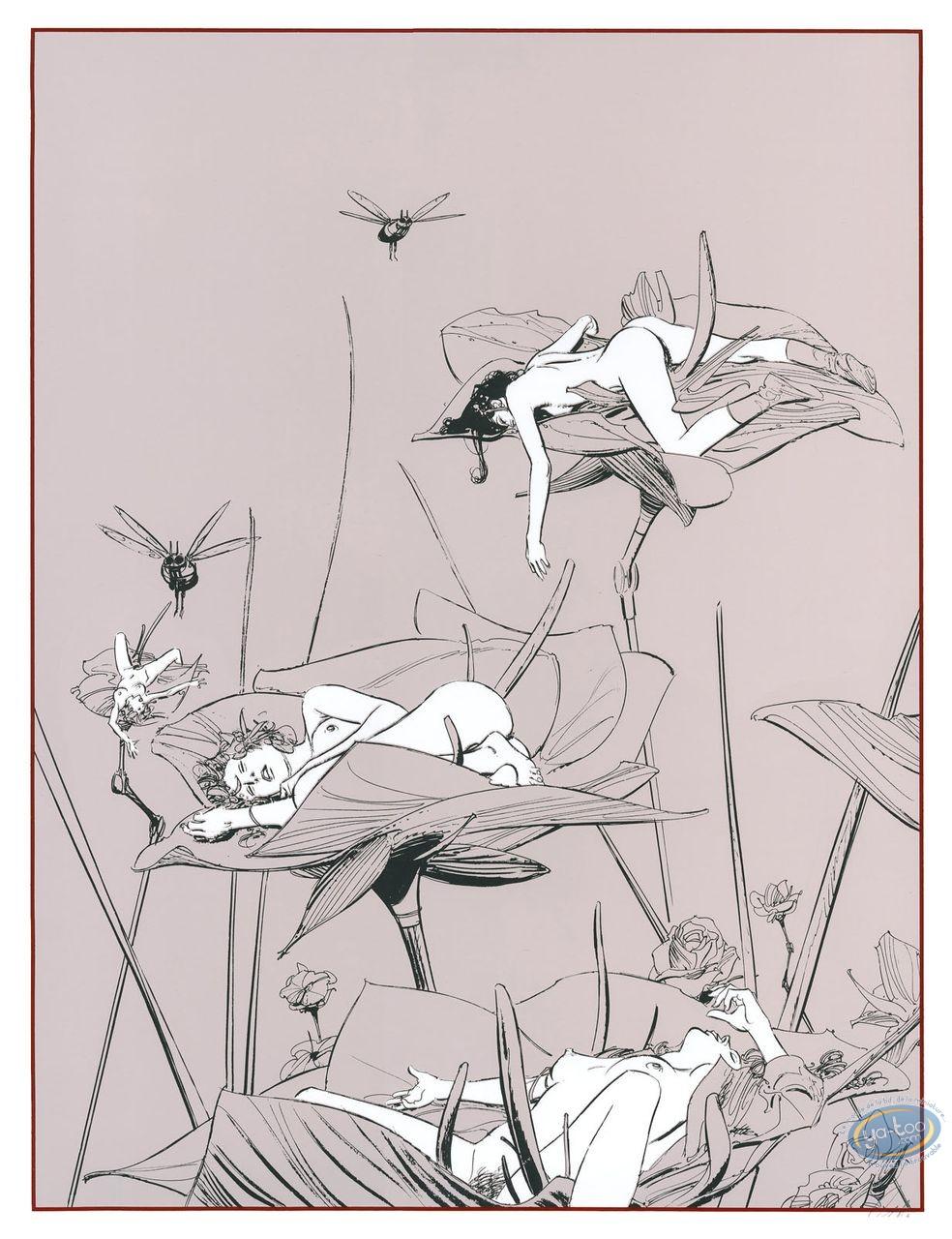 Serigraph Print, Chants Magnétiques : Chants Magnetiques Bucolique 1