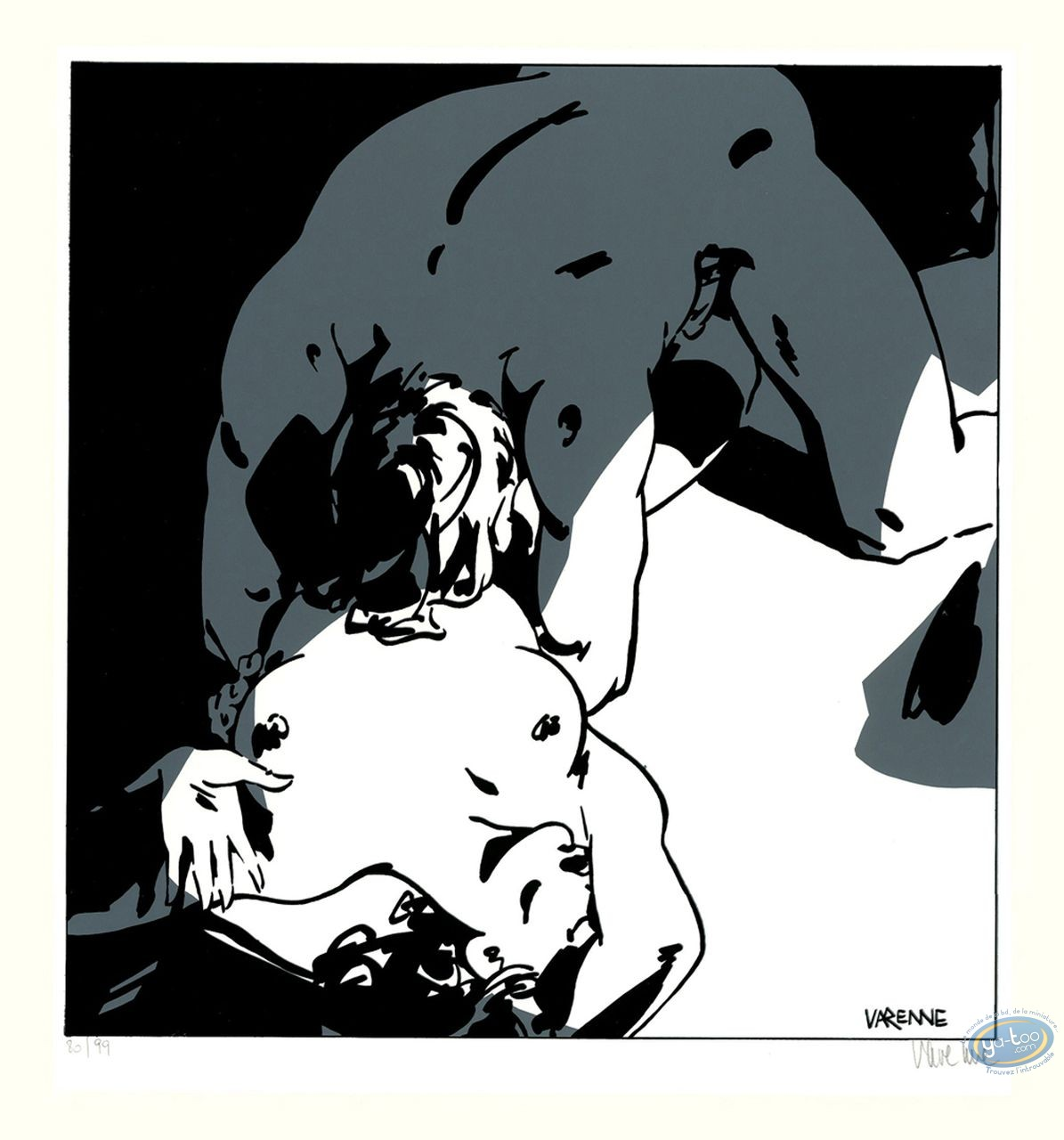 Serigraph Print, Corps à Corps : Body to body 19
