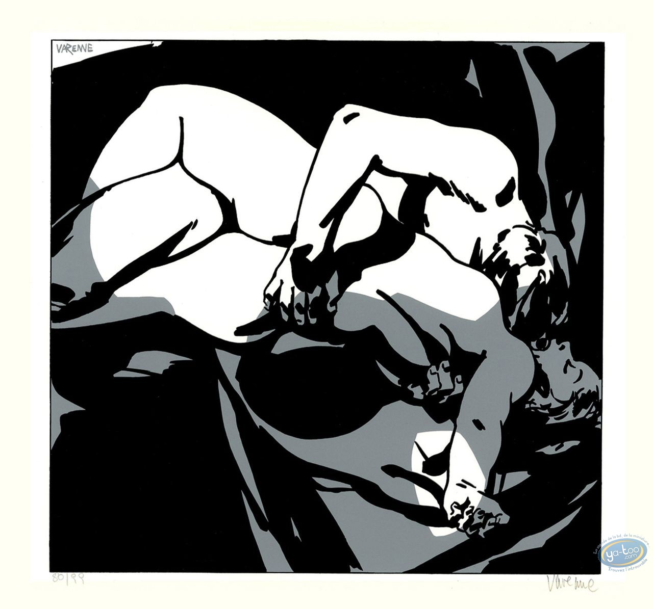 Serigraph Print, Corps à Corps : Body to body 2