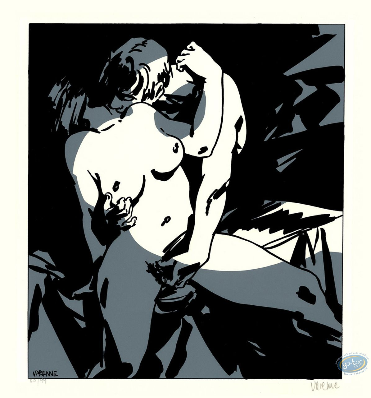 Serigraph Print, Corps à Corps : Body to body 20