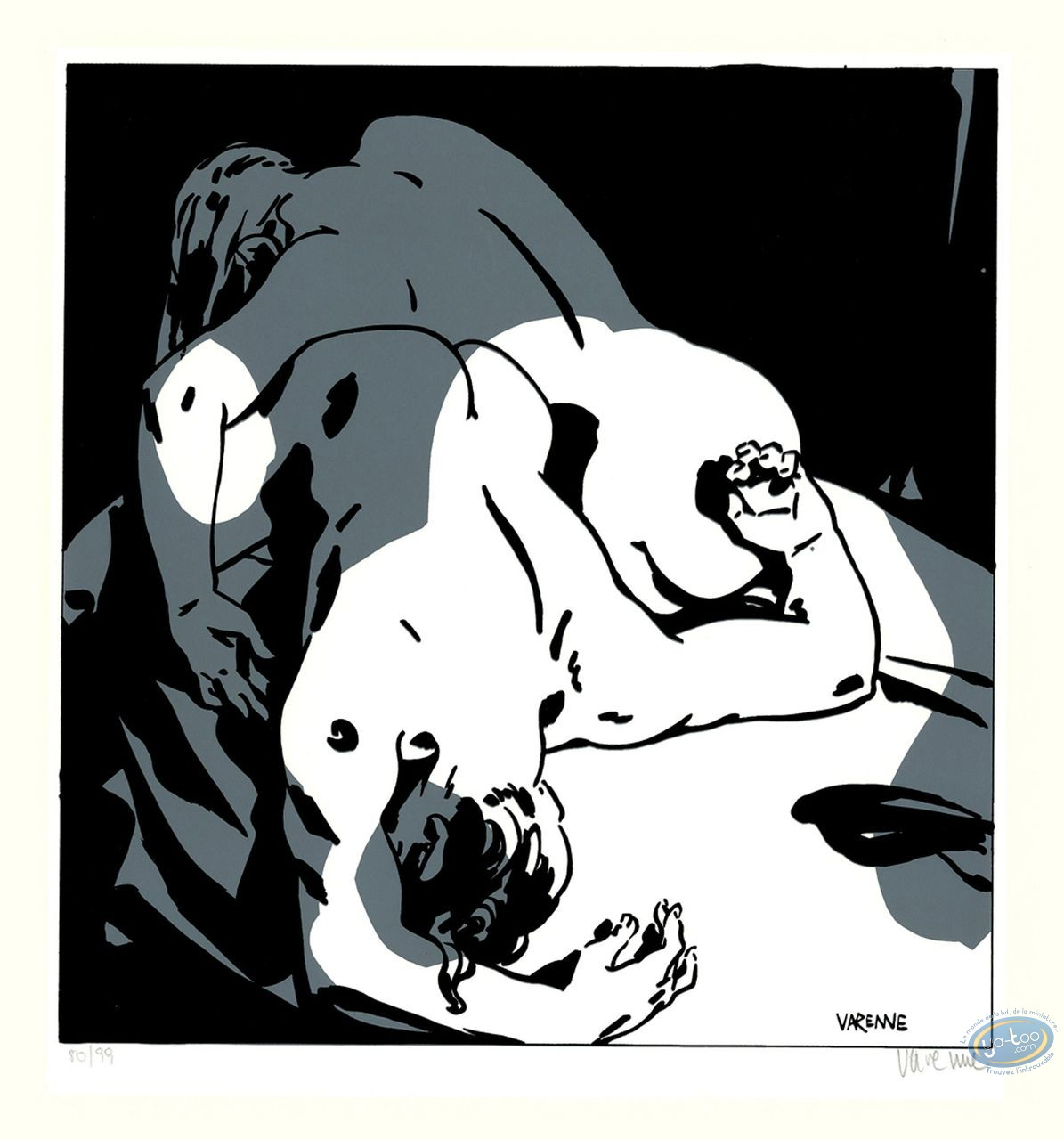 Serigraph Print, Corps à Corps : Body to body 7