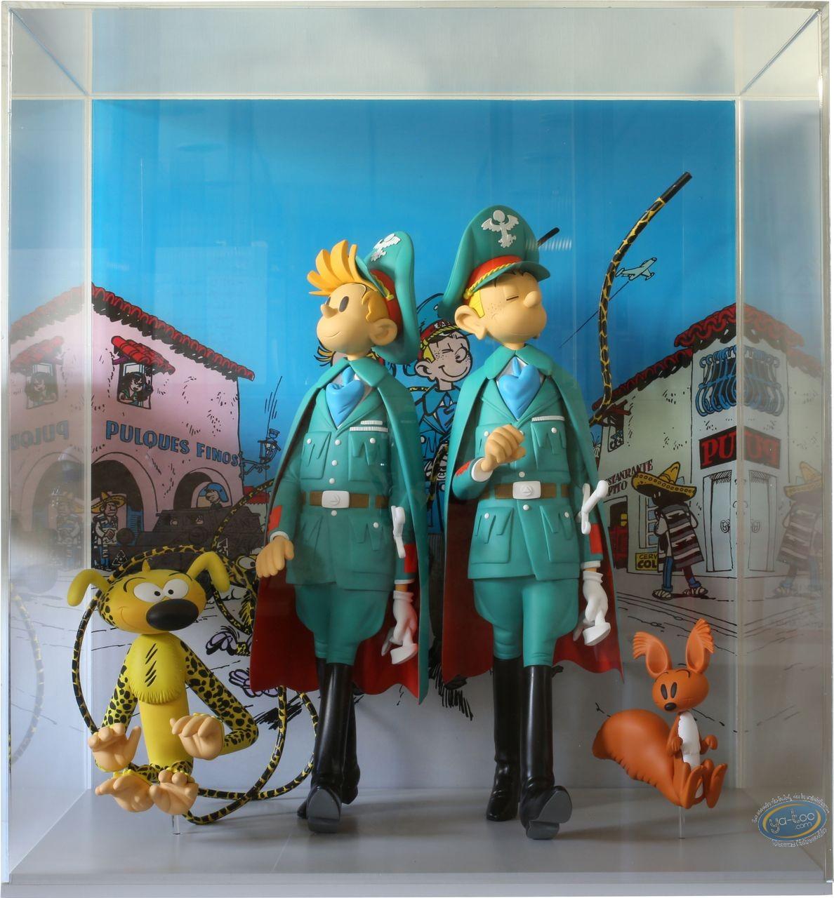 Resin Statuette, Spirou and Fantasio : The Dictator & the Mushroom