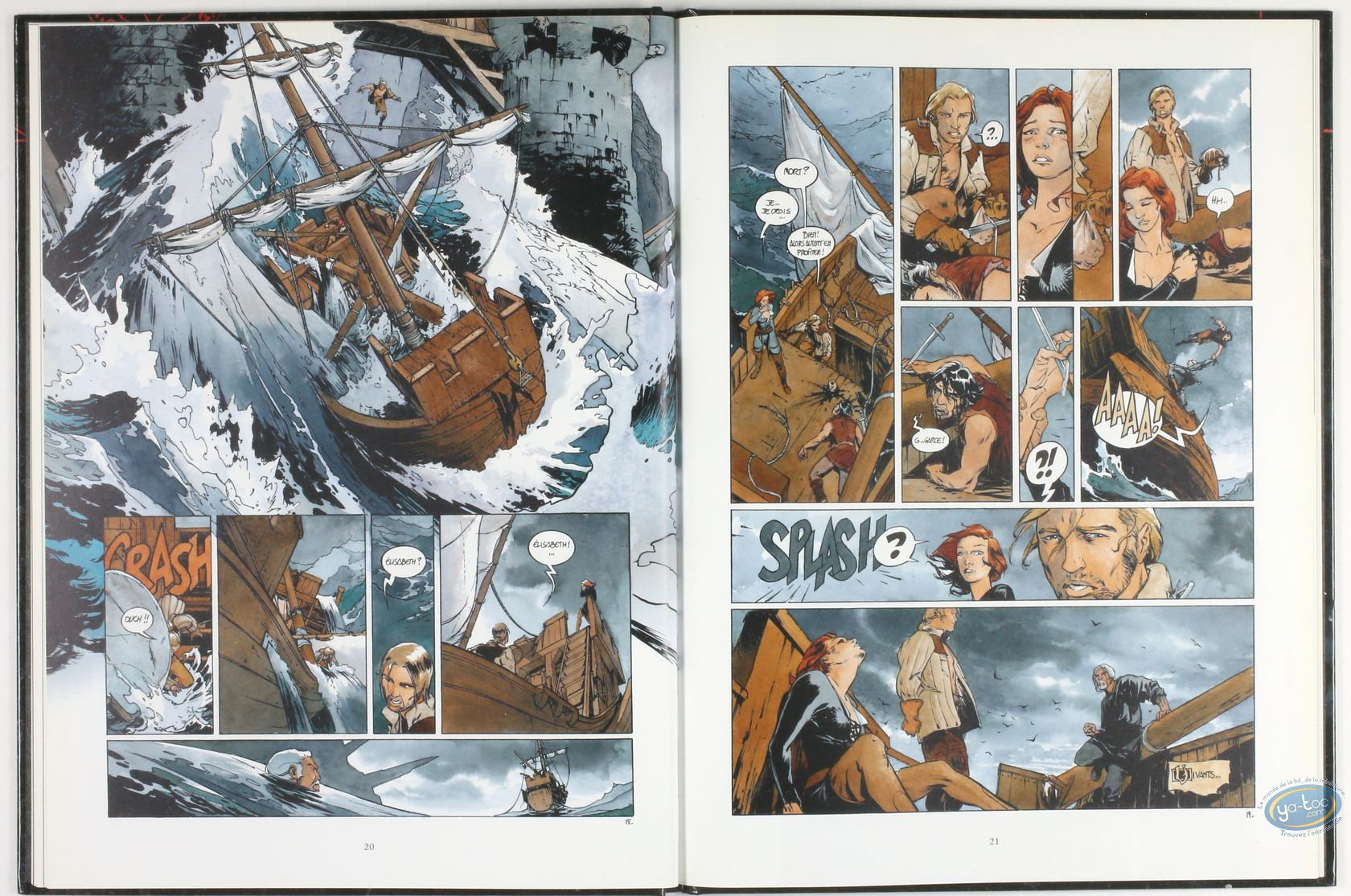 Listed European Comic Books, Troisième Testament (Le) : Comic book, Alice, Le Troisieme Testament volume 3 : Luc, ou le Souffle du Taureau (dedication)