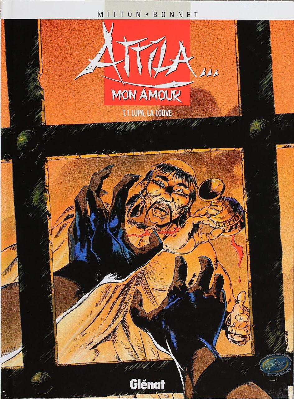 Listed European Comic Books, Attila mon Amour : Lupa, La Louve (very good condition)