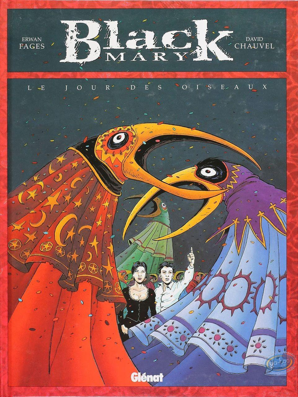 Listed European Comic Books, Black Mary : Le Jour des Oiseaux (good condition)