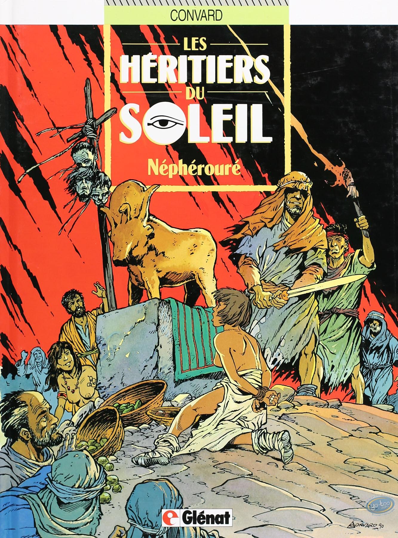 Listed European Comic Books, Héritiers du Soleil (Les) : Néphérouré