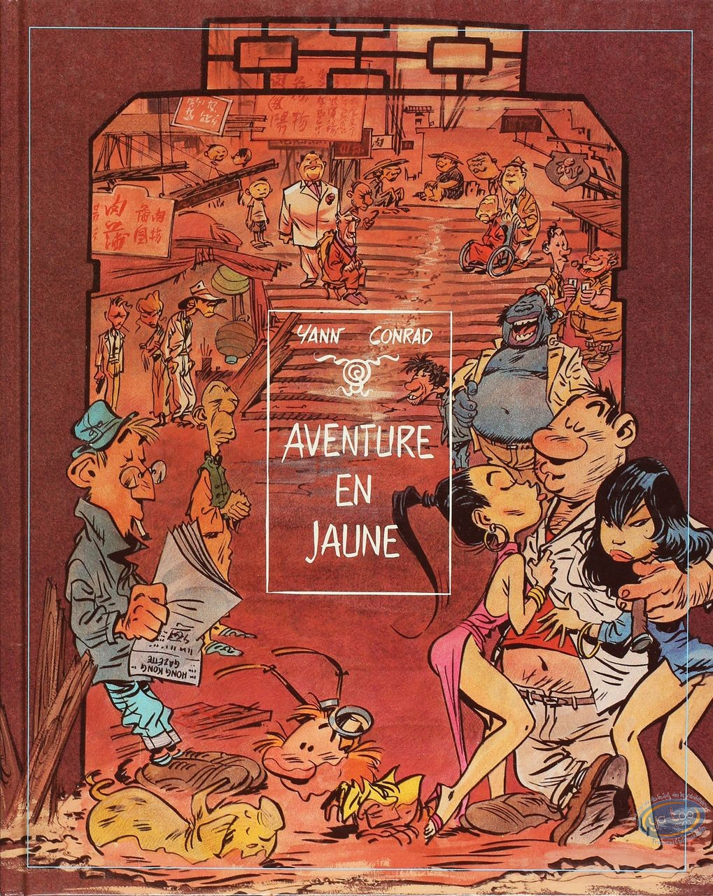Listed European Comic Books, Innommables (Les) : Aventure en Jaune (very good condition)