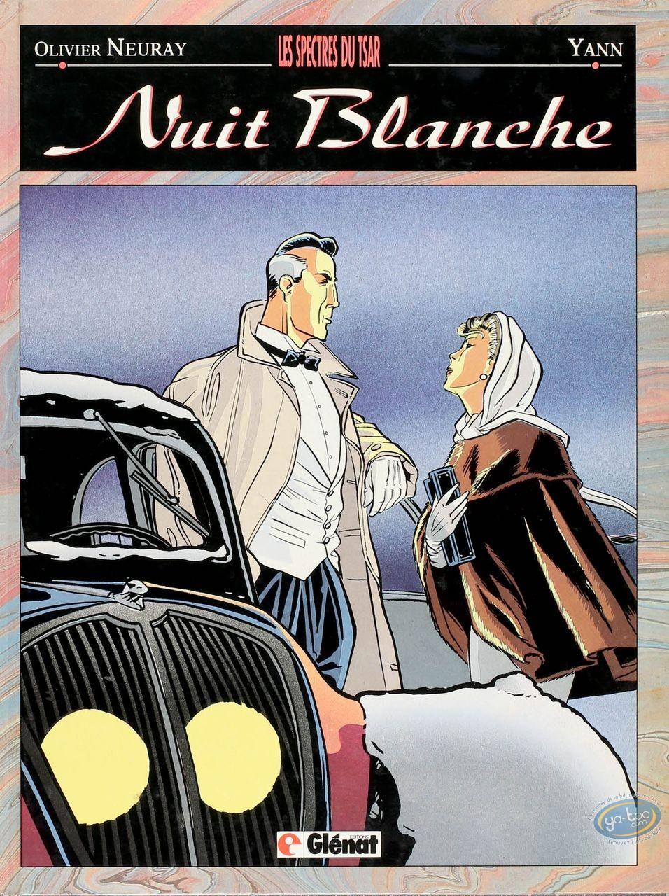 Listed European Comic Books, Nuit Blanche : Les Spectres du Tsar (+ bookplate)