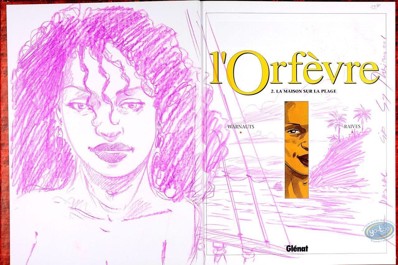 Listed European Comic Books, Orfèvre (L') : La Maison sur la Plage (dedication)