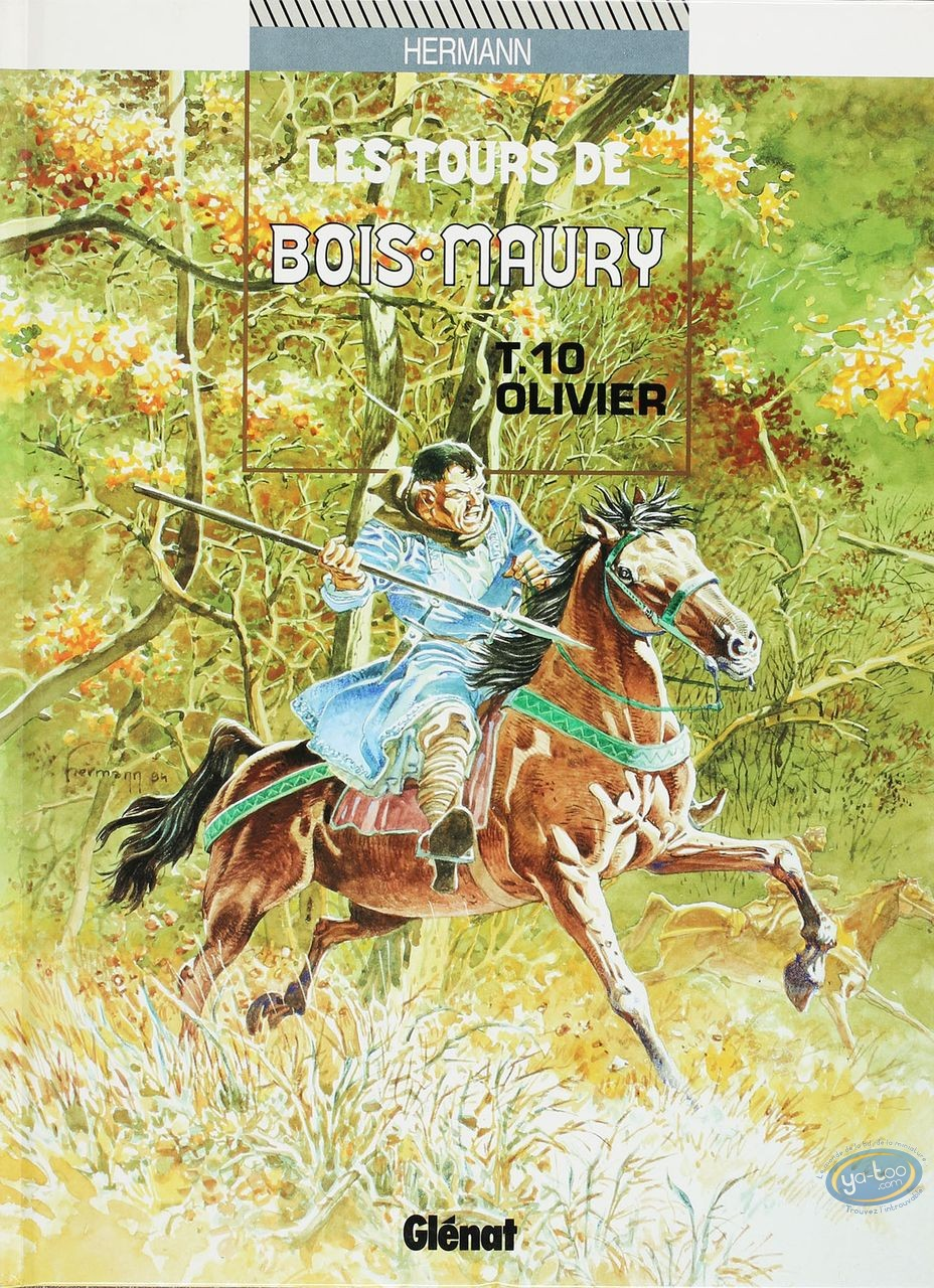 Listed European Comic Books, Tours de Bois-Maury (Les) : Olivier (good condition)
