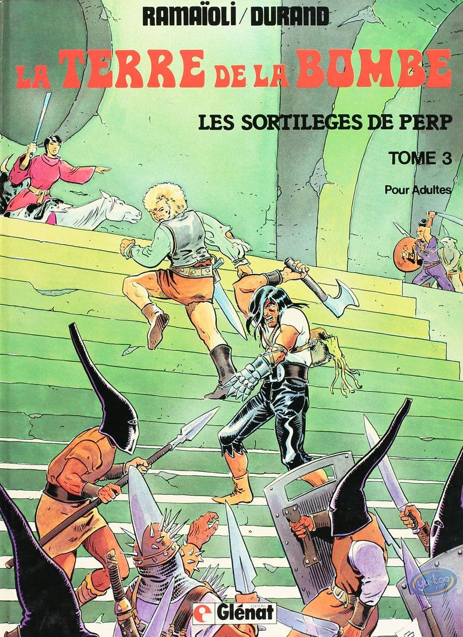 Listed European Comic Books, Terre de la Bombe (La) : Les sortileges de Perp (good condition)