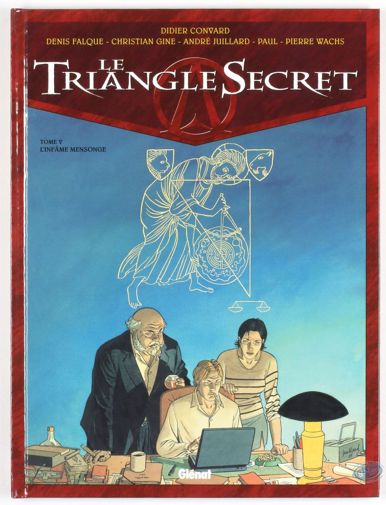 Listed European Comic Books, Triangle Secret (Le) : L'Infâme mensonge